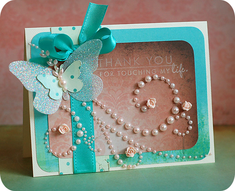 Ideas For Making Thank You Cards Part - 26: Lea Lawson Creates