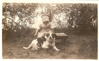 Family Photographs - Post 64: Betty and her dog