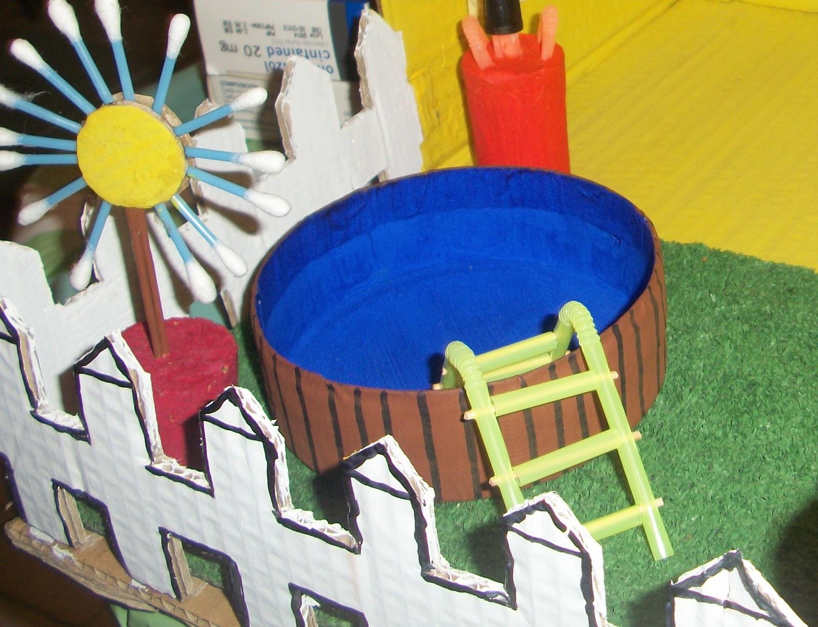 Maravillapinolandia juguete con materiales reciclados - Casa de materiales ...