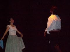Andrea Horacio y su baile....
