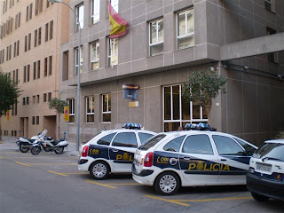 The police in Spain