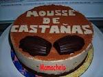 TARTA MOUSSE DE CASTAÑAS