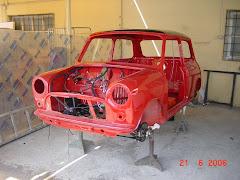 Carroçaria após restauro