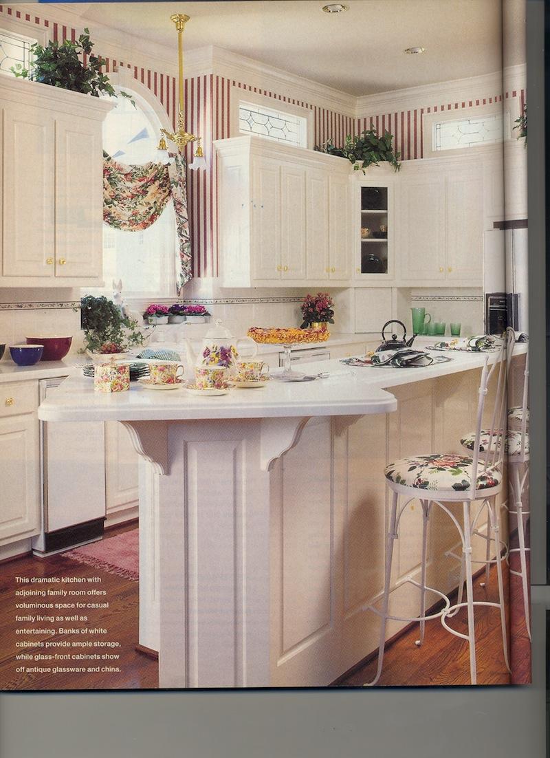 Better homes gardens kitchen update jan michelle for Bhg kitchen design