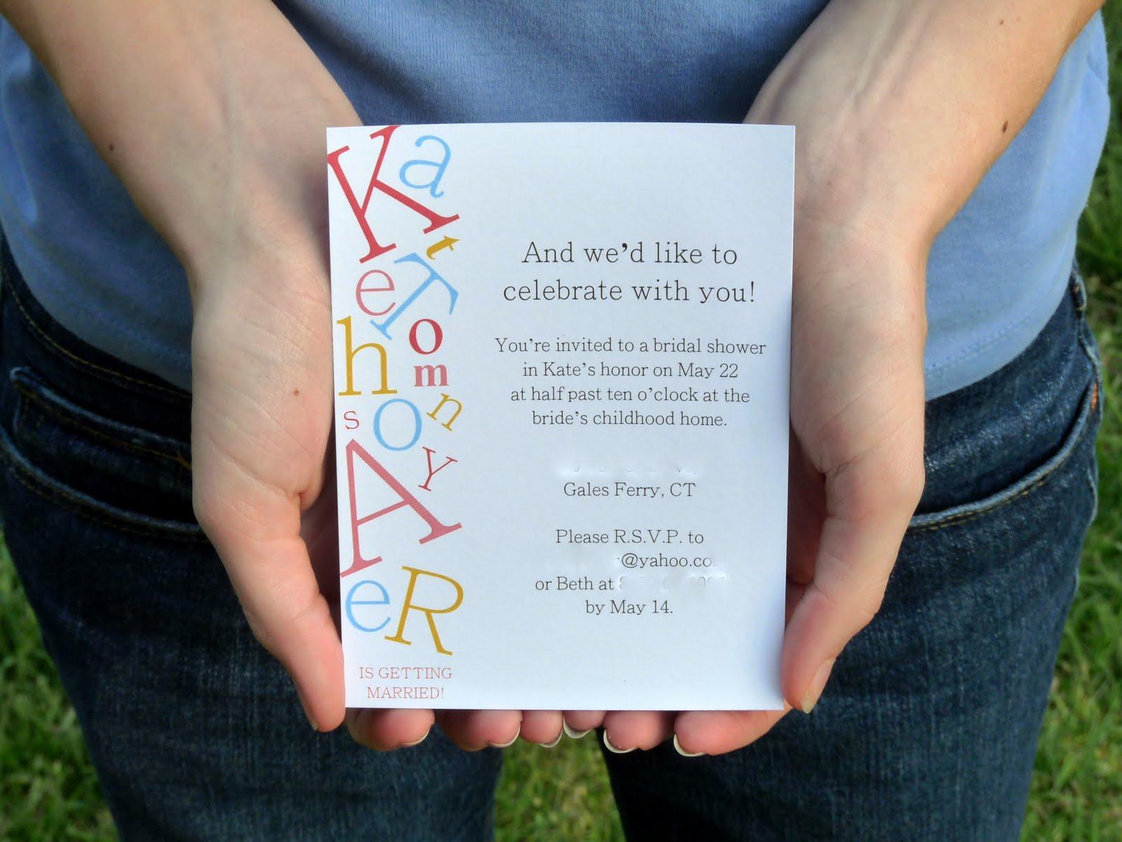 Alphabet bridal shower invitations em for marvelous alphabet bridal shower invitations filmwisefo Gallery