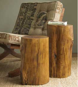 Permalink to how to make a wood stump end table