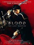 sortie dvd Blood - the last vampire