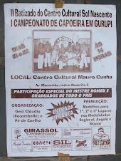 1 Campeonato de Capoeira em Gurupi