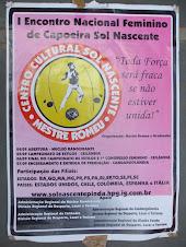1 Encontro Nacional Feminino de capoeira Sol Nascente