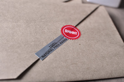 how to make a printed stamp look real