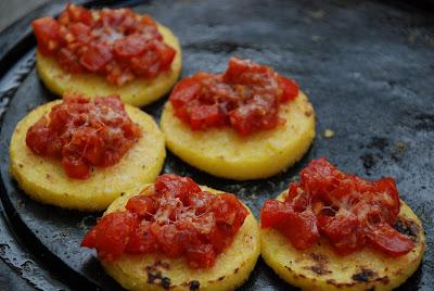Smokey and Spicy Brushetta- Delicious Tapas!
