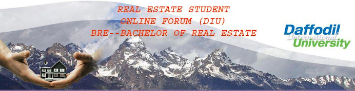 REAL ESTATE STUDENT ONLINE FORUM