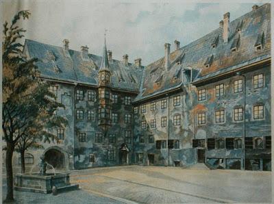 Las Pinturas de Adolfo Hitler. Hitler2