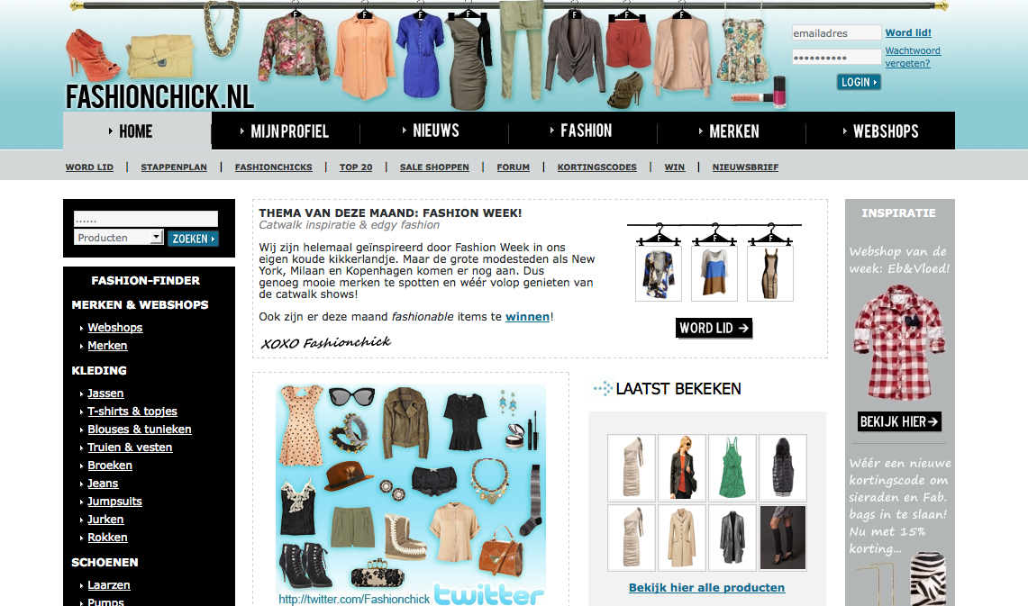 Personal lifestyle beauty fashion blog for Sanoma digital