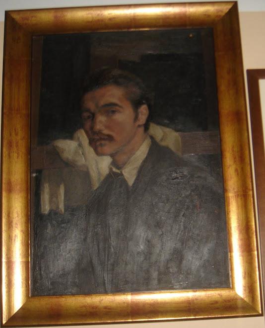 Pintura autoretrat Joan Barbarà