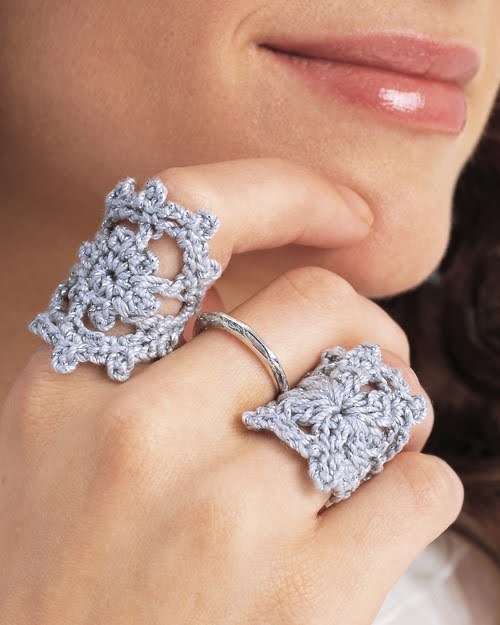 Crocheting Rings : Pacy Crochets: Love these Crochet Rings, Free Pattern