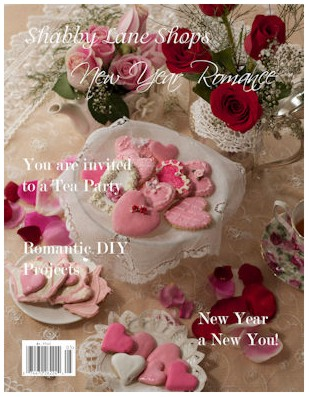 kitty and me designs shabby lane shops magazine new year romance issue. Black Bedroom Furniture Sets. Home Design Ideas