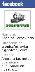 CRÓNICA FERROVIARIA EN FACEBOOK