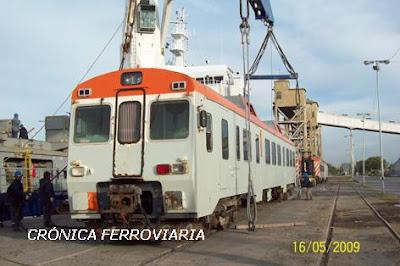 Nuevo tren expreso Constitución-La Plata