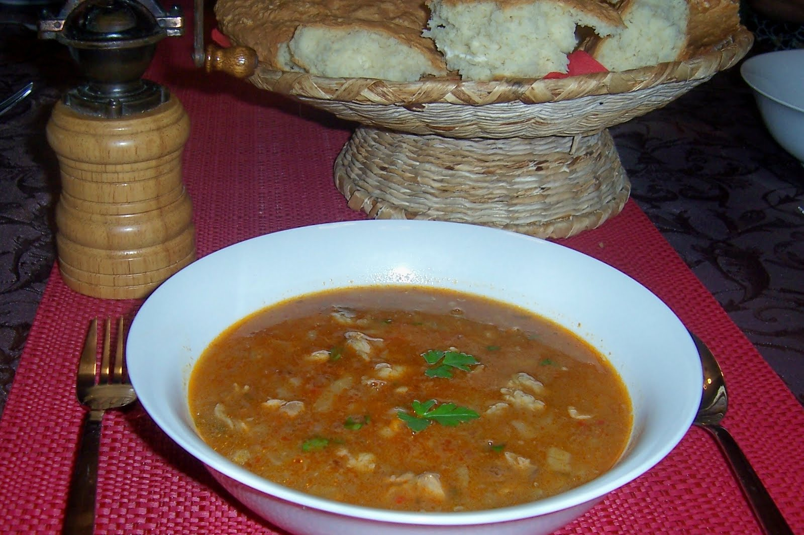 Around the world in favorite recipes chorbanac bosnian soupy chorbanac bosnian soupy meat stew forumfinder Images