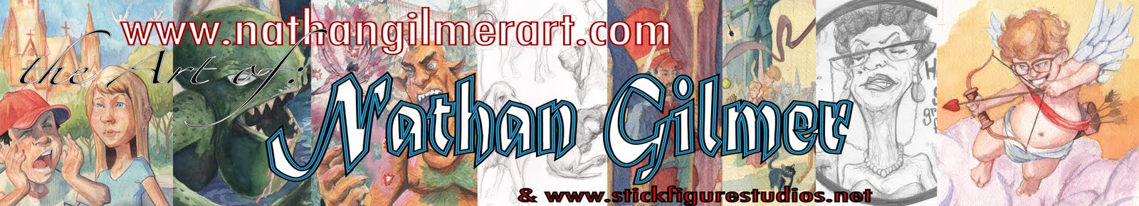 www.nathangilmerart.com the art of Nathan Gilmer