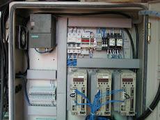 Servo Drive 400 Watt 3 axis panel box