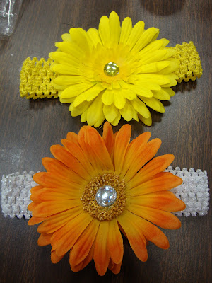 how to make simple flowers for headbands
