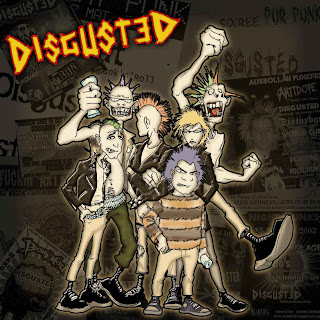 THE DISGUSTED - CRAZY PUNX