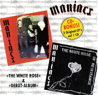 MANIACS - THE WHITE ROSE + DEBUT-ALBUM