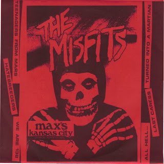 THE MISFITS - MAX'S KANSAS CITY 7''