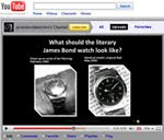 YouTube Channel for James Bond Watches