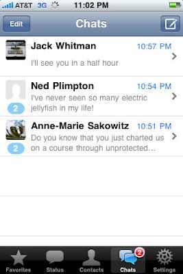 app iphone Messenger WhatsApp1