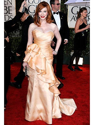 christina hendricks measurements
