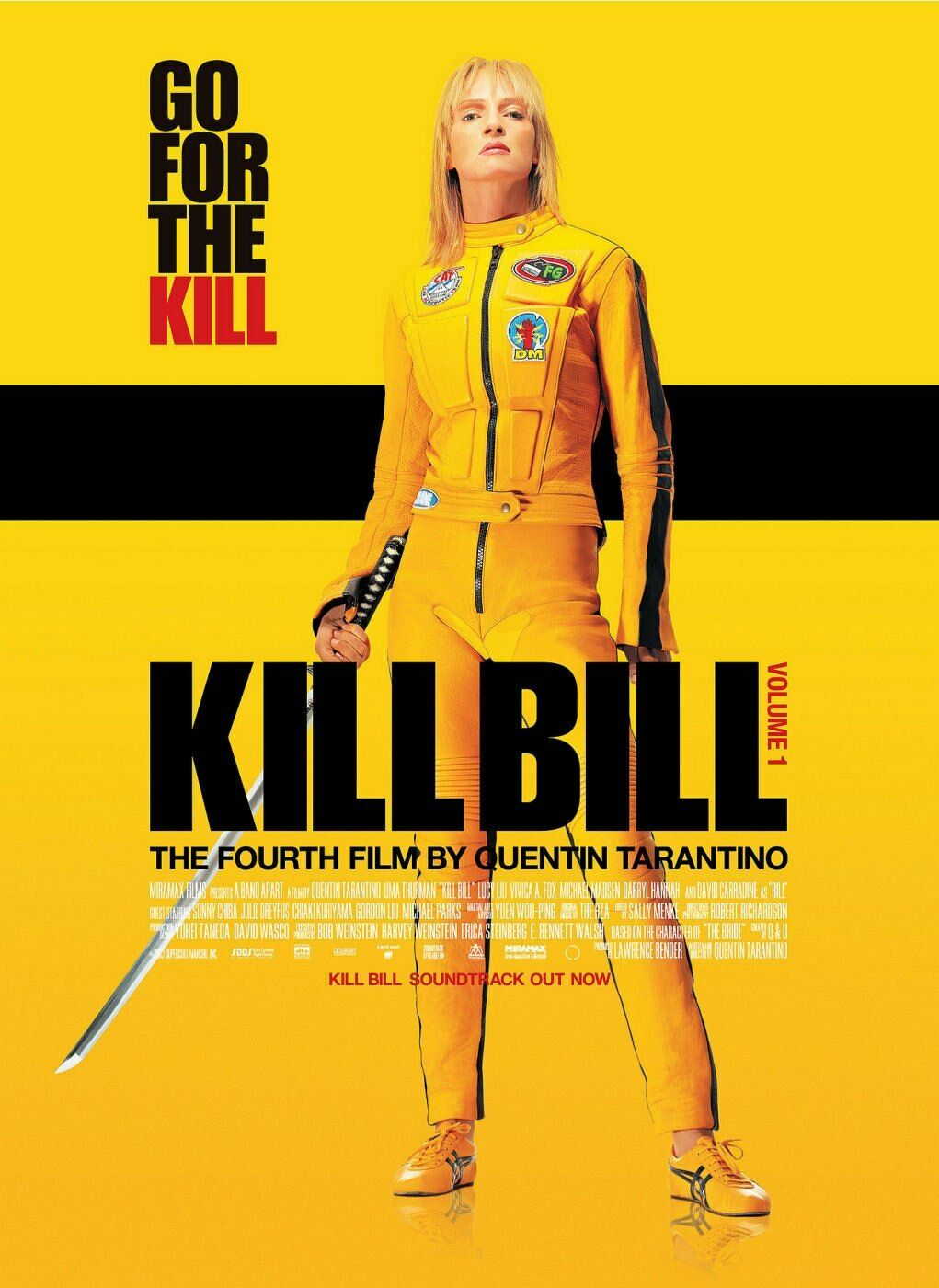 analysis of the kill bill poster Insert your face in kill bill: vol 1 (2003) movie poster photo upload your photo, move, resize and rotate it to fit in the hole view and download the final image.
