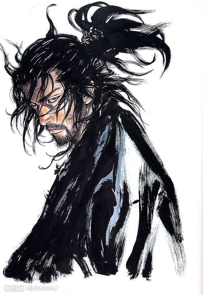 Felix Ip Vagabond Illustration By Inoue Takehiko