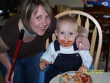 Yummy..Kohen Loves Ketchup