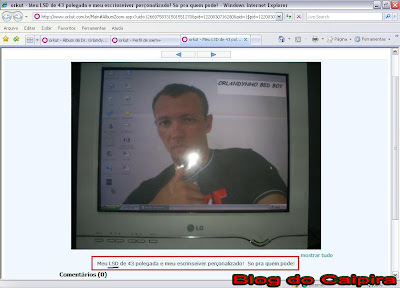 idiotas do pi ORKUT
