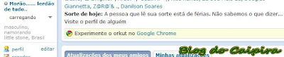 mensagem do dia do orkut