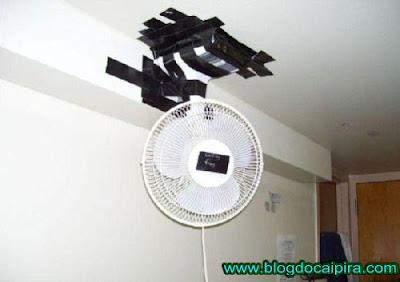 posicionando corretamente o ventilador