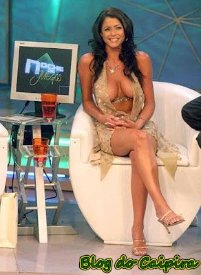 deliciosa esta apresentadora de tv