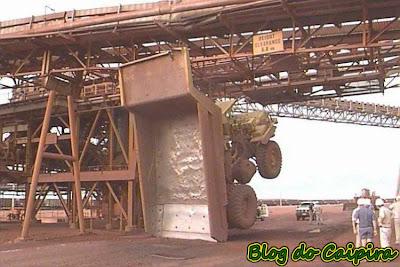 caminhão x ponte