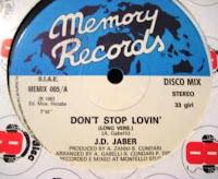 J.D. JABER - Don't Stop Lovin' (1983)