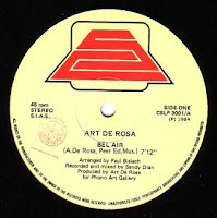 ART DE ROSA - Bel Air (1984)