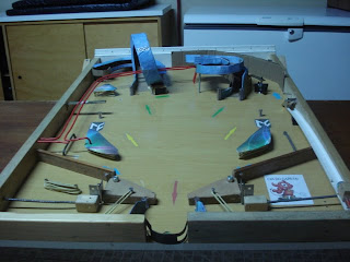 Cleb3r mesa de pinball caseira for Pinball de mesa