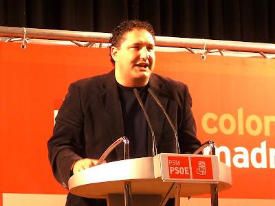 José Cepeda es el vicepresidente del Grupo Socialista