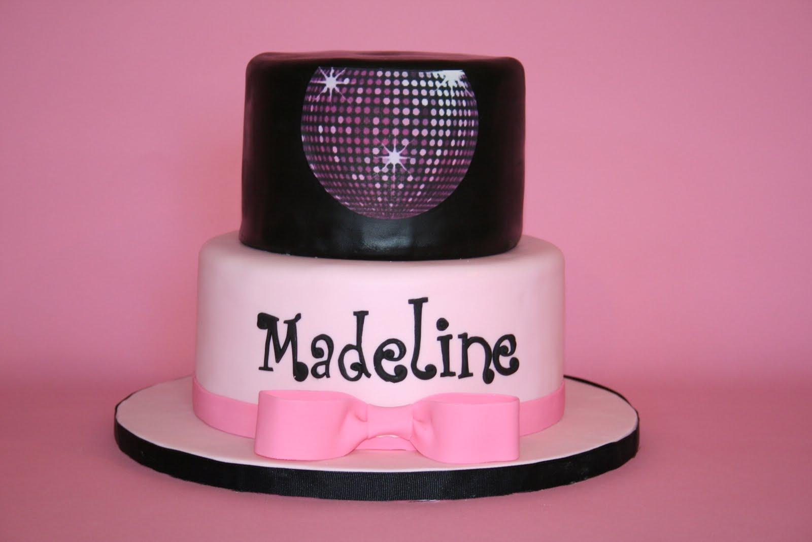 Make Disco Ball Birthday Cake