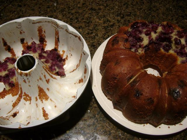 Moosewood Lemon Blueberry Pound Cake