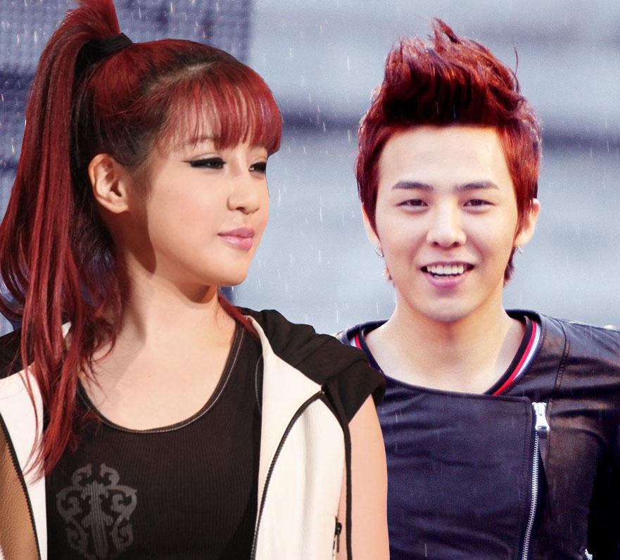 Picssimilarities G Dragon And Park Boms Red Hair Compilation G