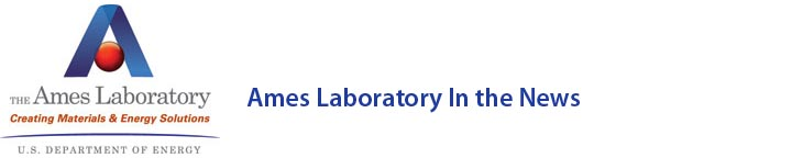 Ames Laboratory In the News