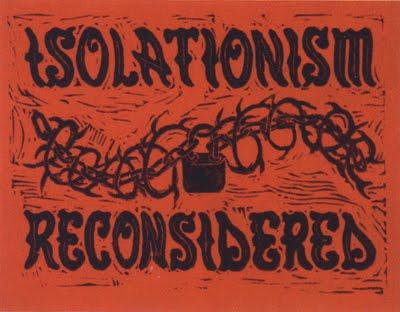 isolationism essays